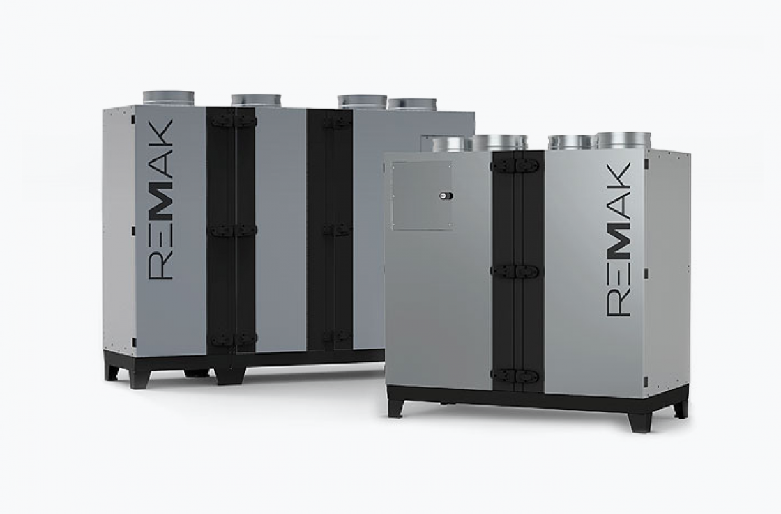 CAKE – kompaktas iekārtas ar siltuma regulēšanu
